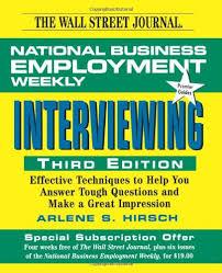 Wall Street Journal - Interviewing
